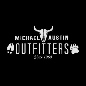 Michael Austin Outfitters - Short Sleeve T-shirt - Black Design