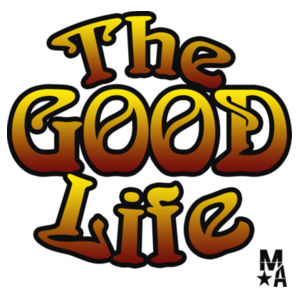 The Good Life - Women's Short Sleeve T-shirt - White Design