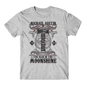 Mischief/Mayhem Ambigram - Short Sleeve T-shirt - Light Heather Gray Thumbnail