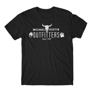 Michael Austin Outfitters - Short Sleeve T-shirt - Black Thumbnail
