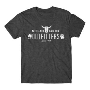 Michael Austin Outfitters - Short Sleeve T-shirt - Charcoal Heather Gray Thumbnail