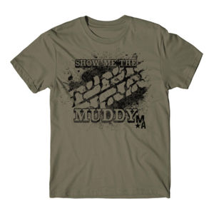 Show Me The Muddy - Short Sleeve T-shirt - MILITARY Thumbnail