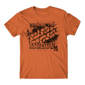 Show Me The Muddy - Short Sleeve T-shirt - BURNT ORANGE Thumbnail