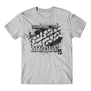 Show Me The Muddy - Short Sleeve T-shirt - LIGHT HEATHER GRAY Thumbnail