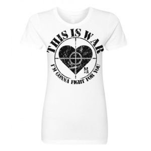 This Is War - Women's Short Sleeve T-shirt - White Thumbnail