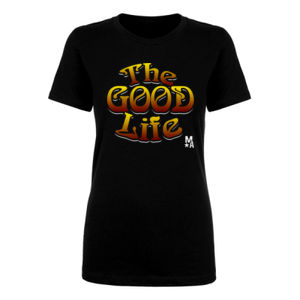 The Good Life - Women's Short Sleeve T-shirt - Black Thumbnail