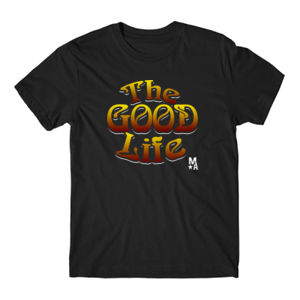 The Good Life - Short Sleeve T-shirt - Black Thumbnail