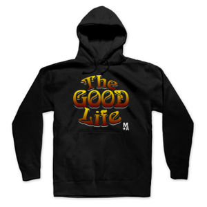 The Good Life - Pullover Hoodie - Black Thumbnail