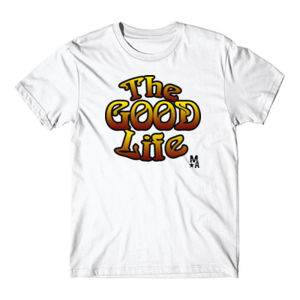 The Good Life - Short Sleeve T-shirt - White Thumbnail
