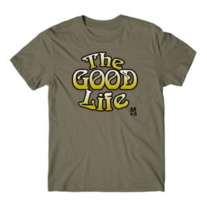The Good Life - Short Sleeve T-shirt - Military Green Thumbnail