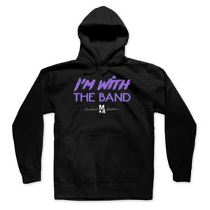 I'm With The Band - Pullover Hoodie - Black Thumbnail