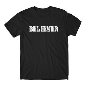 BELIEVER - PREMIUM MEN'S S/S TEE - BLACK Thumbnail