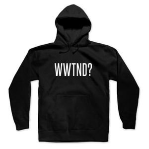 WHAT WOULD TED NUGENT DO? - PREMIUM UNISEX PULLOVER HOODIE - BLACK Thumbnail